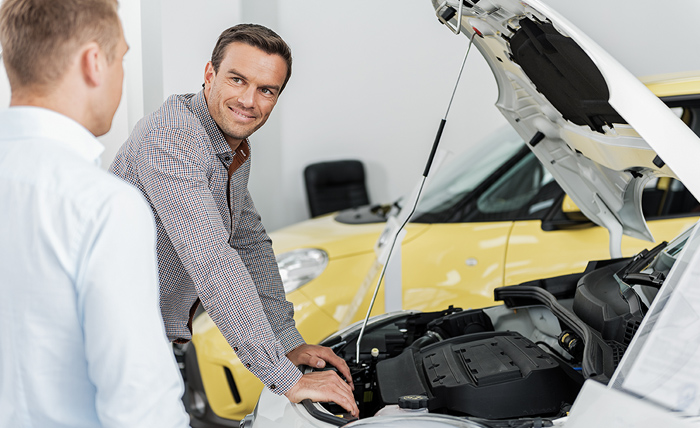 Auto maintenance and resale